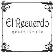 """Logotipo Restaurante """" El Recuerdo""""  C/ del Comandante Zorita, 6, Madrid"""