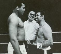 The Super Fight was a fictional 1970 boxing match between Rocky Marciano and Muhammad Ali