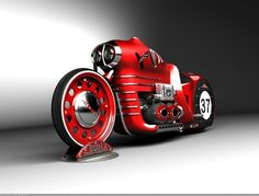 fantasy retro bike