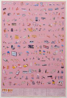 art Charlie  Roberts Fry Guy 2011 1965 412