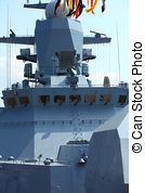 Warship stock photos and images