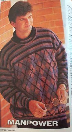 Men Sweater, Turtle Neck, Magazine, Long Sleeve, Sleeves, Mens Tops, T Shirt, Fashion, Supreme T Shirt