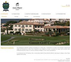 http://www.gassingolfcc.com/  Site internet de l'Immobilière du Golf de Gassin Country Club