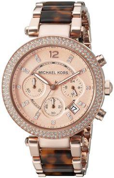 d05cda601a8a Amazon.com  Michael Kors Women s Parker Brown Watch MK5538  Michael Kors   Watches