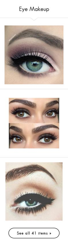 """""""Eye Makeup"""" by ella-sty ❤ liked on Polyvore featuring beauty products, makeup, eye makeup, eyeshadow, eyes, beauty, pink eyeshadow, pink eye shadow, pink eye makeup and eyebrows"""