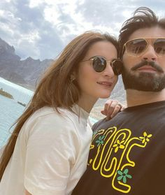 Aiman Khan And Muneeb Butt Latest Pictures From Hunza Valley Trip Cute Couple Images, Couples Images, Cute Couples, Mahira Khan, Ayeza Khan, Celebrity Couples, Celebrity Gossip, Hareem Farooq, Beauty P