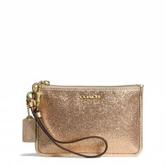 The Legacy Small Wristlet in Glitter Fabric from Coach