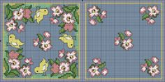 Shabby chic pattern - Easter