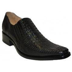 Zapatos exoticos de caiman