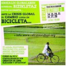 CURSO: ANTE LA CRISIS GLOBAL, EL CAMBIO LLEGA EN BICICLETA.. ecoagricultor.com