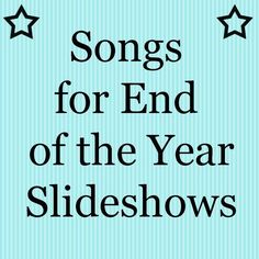 for End of the Year Slideshows End of the year slideshow songs.End of the year slideshow songs. End Of School Year, Too Cool For School, School Fun, School Days, Middle School, School Stuff, Senior Year Of High School, School Craft, School Memories