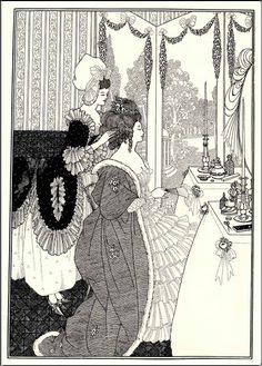 Aubrey Beardsley (1872-1898), The Toilet.