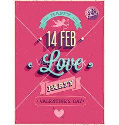 Love party vector - by aviany on VectorStock®