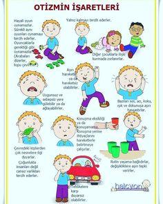 """Doğuştan gelen ve genellikle yaşamın ilk üç yılında fark edilen karmaşık bir gelişimsel farklılık olan #otizm de erken teşhisin önemine dikkat çeken uzmanlar, """"Erken tanı ile otistik çocuklar; uygun, birebir eğitim ile kendi başına bazı işleri yapabilecek hale getirilebiliyor. Bazı durumlarda da çocuk aldığı eğitim ile neredeyse bu hastalığı yok edecek düzeye gelebiliyor."""" Bu belirtilere dikkat! ✔Göz teması kurmaz, seslenmeye tepki vermez. ✔Kayıtsızdırlar, duymuyormuş gibi davranırlar…"""