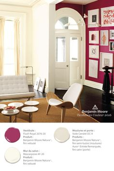 Let Benjamin Moore help you find color combinations and design inspiration for the living room that fits your personal style. Browse photos and get color ideas. Living Room Color Schemes, Paint Colors For Living Room, Living Room Designs, Colores Benjamin Moore, Benjamin Moore Colors, Living Room Interior, Home Interior, Living Room Decor, Interior Paint