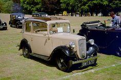Vintage Cars, Antique Cars, Austin Cars, Austin Seven, Classic Cars British, Concept Cars, 1920s, Britain, Vans
