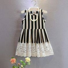 stripes dresses for kids - Buscar con Google