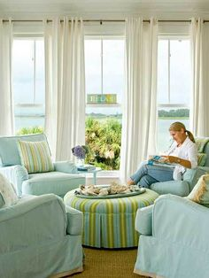 Coastal Living windows with a view