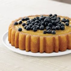 Mary Ann Cake With Lemon Curd And Blueberries Recipe with 11 ingredients Raspberry Recipes, Blueberry Recipes, Mary Ann Cake Pan Recipe, Fun Desserts, Dessert Recipes, Lemon Curd Cake, Flan Cake, Cake Pop Maker, Cupcake Cakes