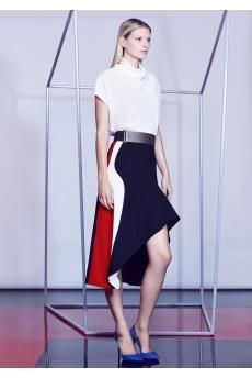 The Agility Top and the Trafalgar Skirt from the SS14 collection by CAMILLA AND MARC.