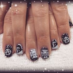 201 Best Badass Nails Images On Pinterest In 2018 Fingernail