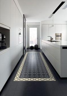 Un carrelage de sol comme un tapis - Marie Claire Maison: