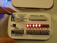 Very retro computer in a tin - program via toggle switches