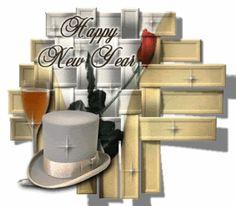 Happy New Year photo: HappyNewYearHatStars HappyNewYearHatStars.gif