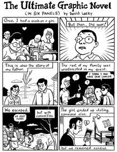 Autobiographical comic design project idea