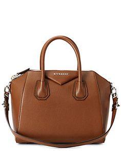 "Givenchy ""Antigona"" Small Sugar Leather Satchel"