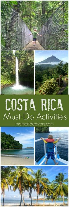 Costa Rica Family Travel - 10 Must-Do Activities in Costa Rica, great for all ages including young kids. #top10traveldestinationsinamerica