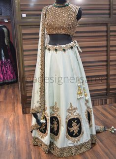Indian designer party wear bollywood designer lengha indian Readymade stitched blouse lehenga for we Blouse Lehenga, Lehenga Choli Online, Silk Lehenga, Bridal Lehenga, Bridal Lenghas, Party Wear Dresses, Party Wear Sarees, Indian Dresses, Indian Outfits