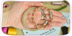 Jak zrobić bransoletkę na dysku kumihimo na 16 sznurków? Wiosenny wzór w kwiatuszki Bracelets, Blog, Jewelry, Jewlery, Jewerly, Schmuck, Blogging, Jewels, Jewelery