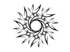 simple male tattoo designs | Free designs - Tribal sun simple tattoo wallpaper