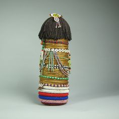 20th Century Ntwane Tribal Fertility Doll, South Africa | From a unique collection of antique and modern tribal art at https://www.1stdibs.com/furniture/folk-art/tribal-art/