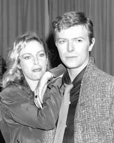 """David Bowie and Sydne Rome who stars opposite him in his latest film """"Just a Gigolo"""". Angie Bowie, David Bowie Born, Sydne Rome, Star David, Major Tom, Ziggy Stardust, National Photography, Mick Jagger, Actors"""