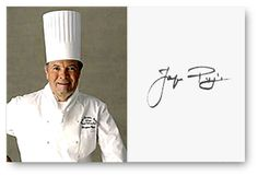 Jacques Pepin - My other favorite whom I derive great inspiration from.