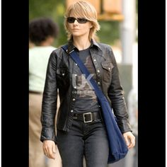 Brave One Jodie foster Leather Jacket