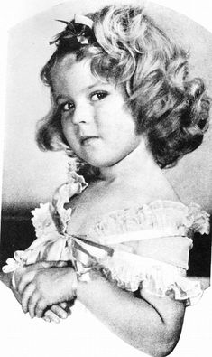 Shirley... Love her hair in this picture because the curl has fallen out.