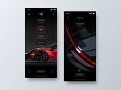 Shop Car App +Tour360ºappui design ux designer iphone shop app app ios app concept minimalist ios app design