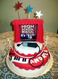 Torta de High school musical