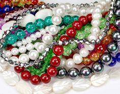 Новое праздничное поступление - http://www.luciastonesspb.ru/collection/Бусины-разные!!! - Стеклянные бусины, Жемчуг, Бусины из перламутра - Каменные бусины