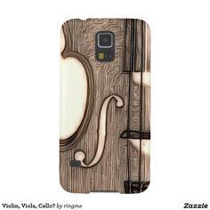Violin, Viola, Cello? Galaxy S5 Cover