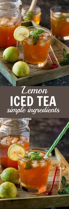 Ice tea or Iced Tea recipe is a perfect refreshing cool drink for summer. You really don't need too many fancy ingredients for iced tea. In fact, you can make a delicious pitcher of iced tea with simple ingredients available in your kitchen. Summers are t
