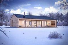 Helpful Tips For modern home design kitchen Modern Barn House, Modern House Plans, Prefabricated Houses, Prefab Homes, Small House Design, Modern House Design, Casas Containers, Shed Homes, Modern Farmhouse Exterior