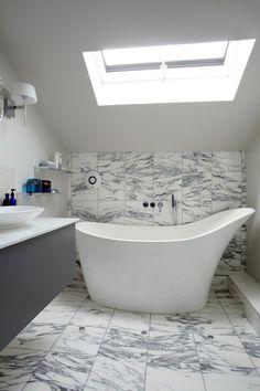 I love this tub. Please....someone hire me to design a bathroom with this tub!  / Victoria + Albert Baths
