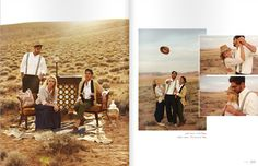 Love the photos on the right. Mood inspiration.   We Are The Rhoads - Rue Mag // Cover Shoot // Tear Sheets