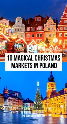 Looking for the best Christmas markets in Poland? Check out all about Poland Christmas markets from the most popular Krakow Christmas Market to many smaller markets including Poznan and Gdansk.