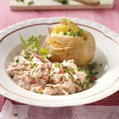 Ofenkartoffel mit Tunfischquark Rezepte   Weight Watchers
