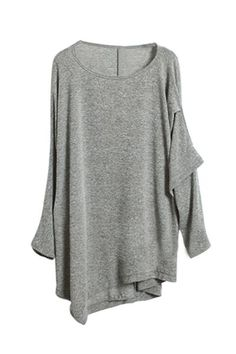Asymmetric Boyfriend Knit
